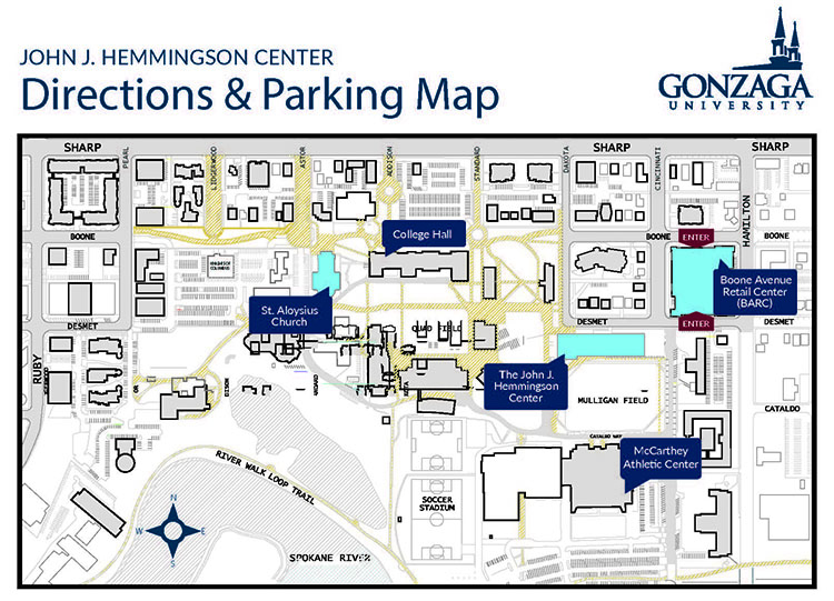 Directions & Parking Map