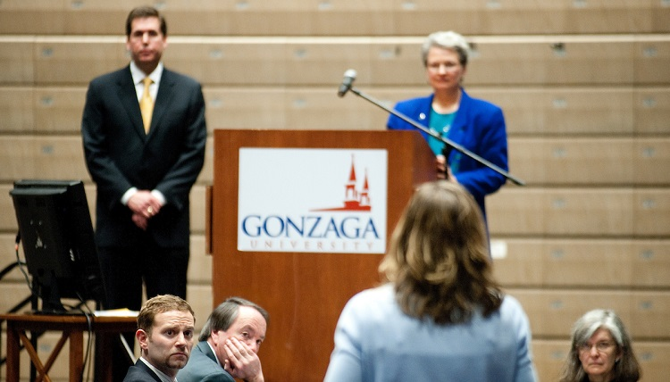Faculty conference at Gonzaga