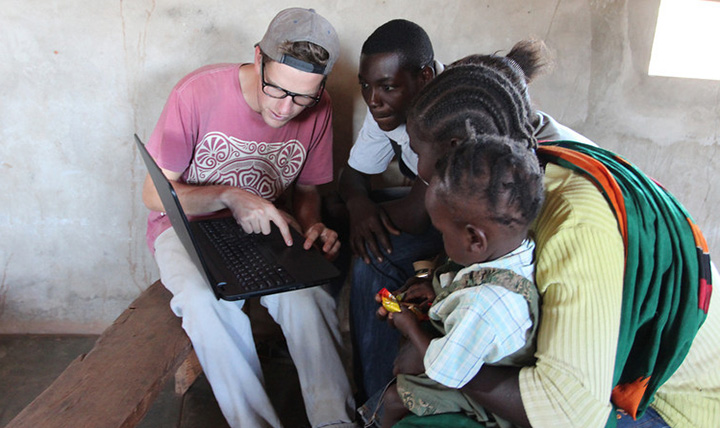 Zags in Zambia mentoring students
