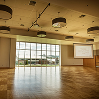 View of the Ballroom of the John J. Hemmingson Center