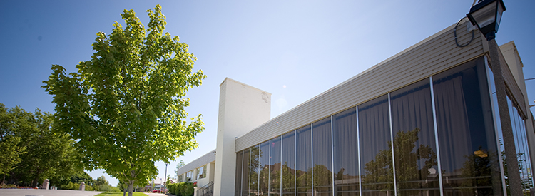 View of the outside of the Gonzaga Music Annex
