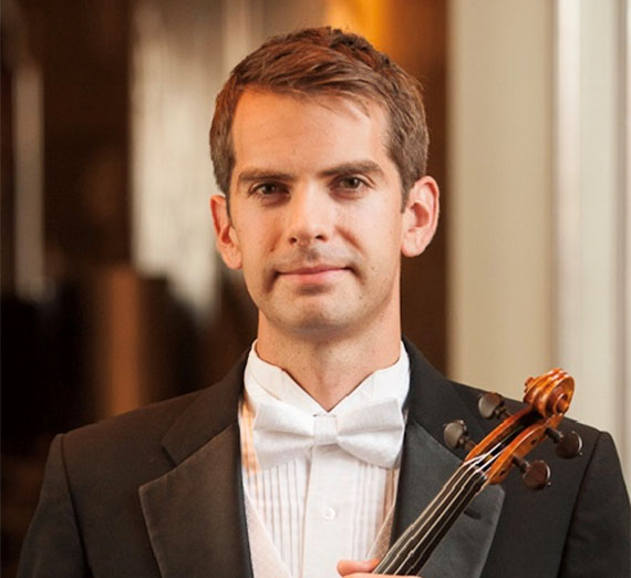 Portrait of Jason Moody, D.M.A Music. Instructor, Applied Violin