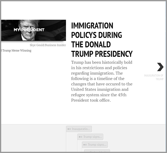Immigration policy during the Donald Trump administration website