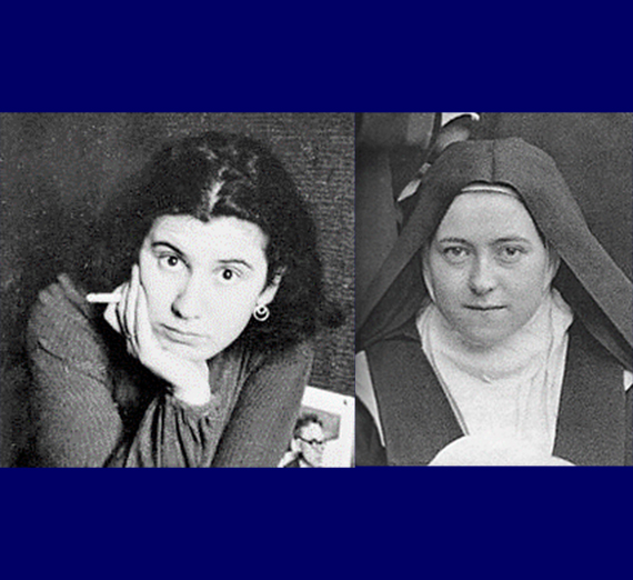 Portraits of Etty Hillesum and Therese of Lisieux