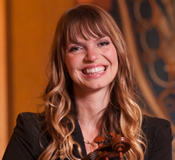 Portrait of Amanda Howard-Phillips, Instructor, Applied Violin