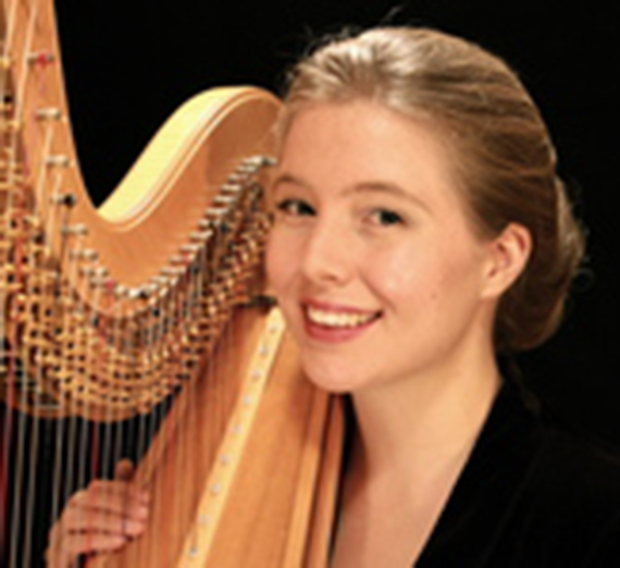 Portrait of Earecka Tregenza Moody, M. Music. Instructor, Applied Harp