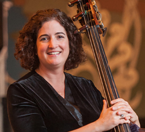 Portrait of Kim Plewniak, M. Music. Instructor, Applied Bass
