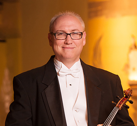 Portrait of Nick Carper, Instructor, Applied Viola