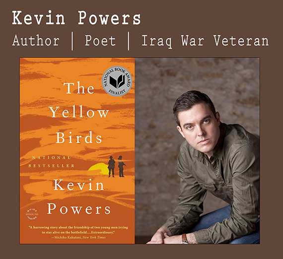 Kevin Powers, Iraq Veteran and author of Yellow Birds