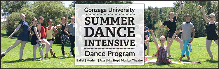 Gonzaga University Summere Dance Intensive