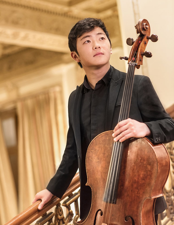 Portrait of Brannon Cho, Cello Soloist