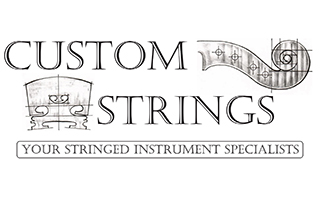 Custom Strings logo