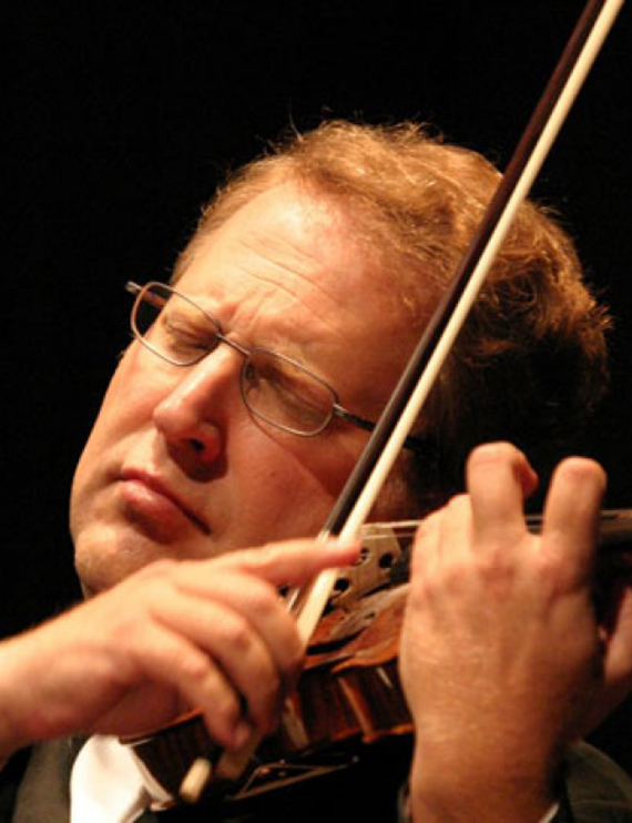 Portrait of Shlomo Mintz, violin soloist