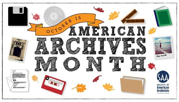American Archives Month graphic