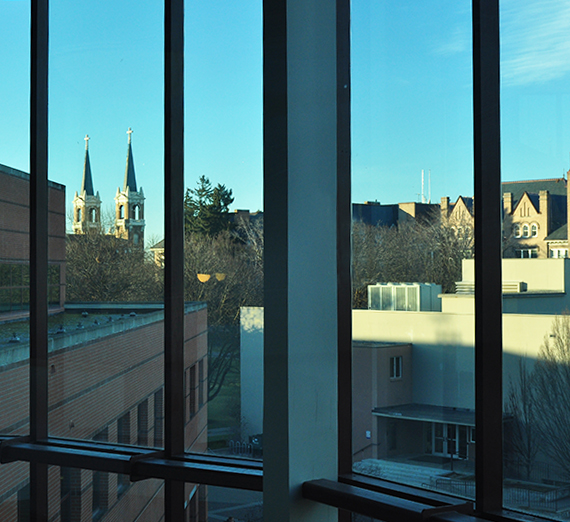 View of Spires from Foley