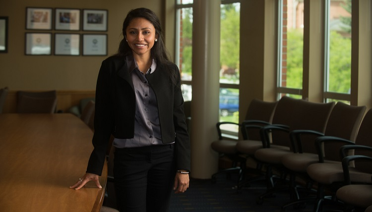 Iveth Canales- Graduate School of Business Marketing Campaign - Spring 2013