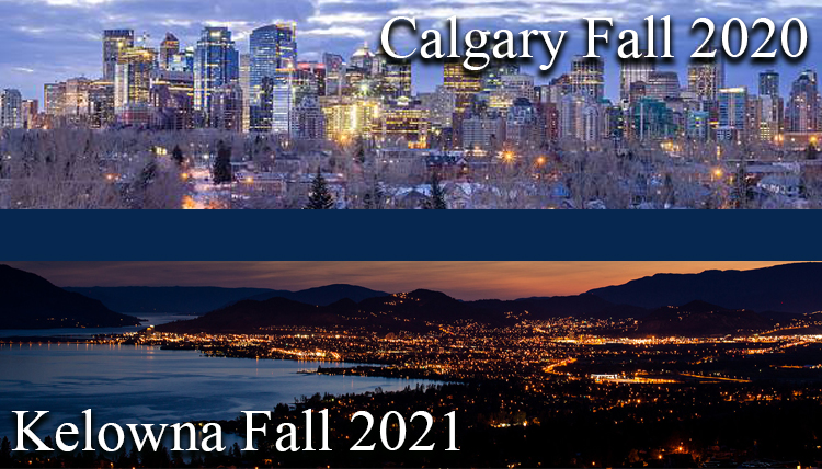 The Master of Counseling program will be offered in Calgary - Fall 2020, and Kelowna - Fall 2021.