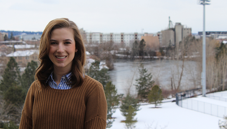 Photo of Gonzaga Law student Colleen Penny