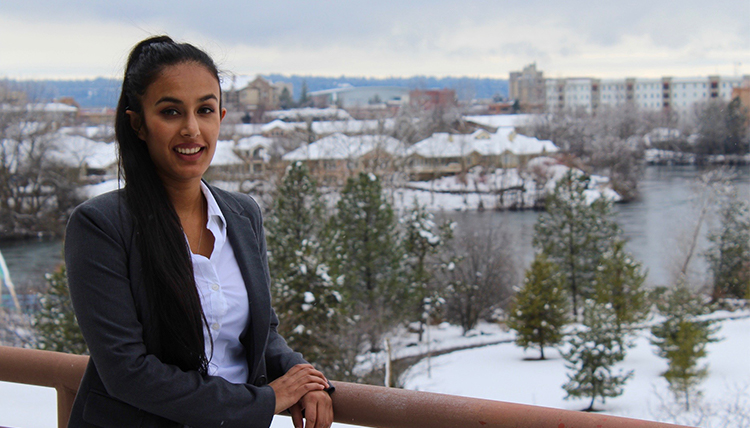 Photo of Gonzaga Law student Gurpreet Dhatt