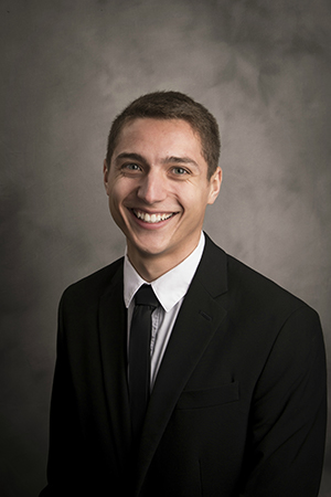 Photo of Gonzaga Law student and Thomas More Scholar Josiah Lara