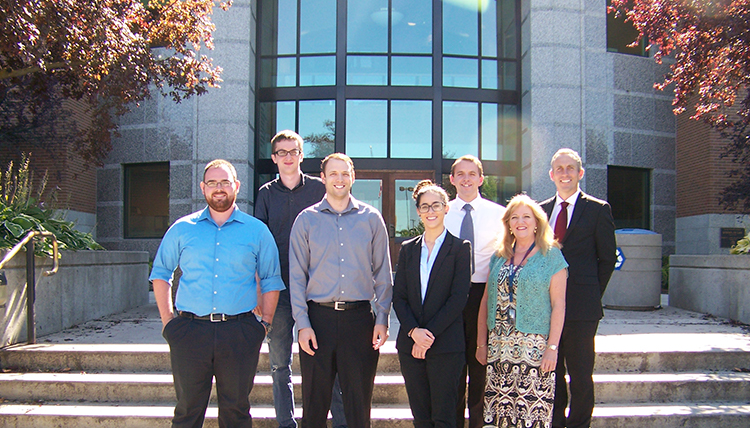 Group photo of students working in Gonzaga Law's Federal Tax Clinic