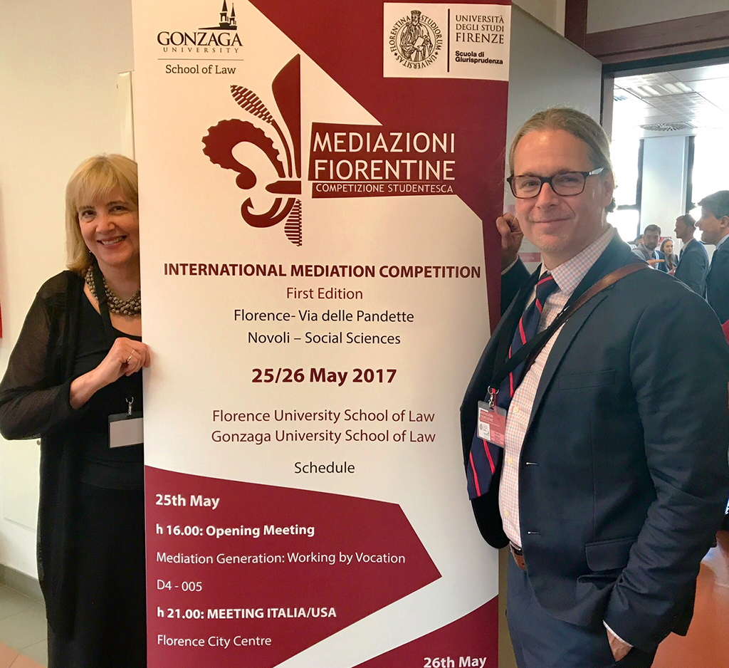 Mediation competition in Florence, Italy