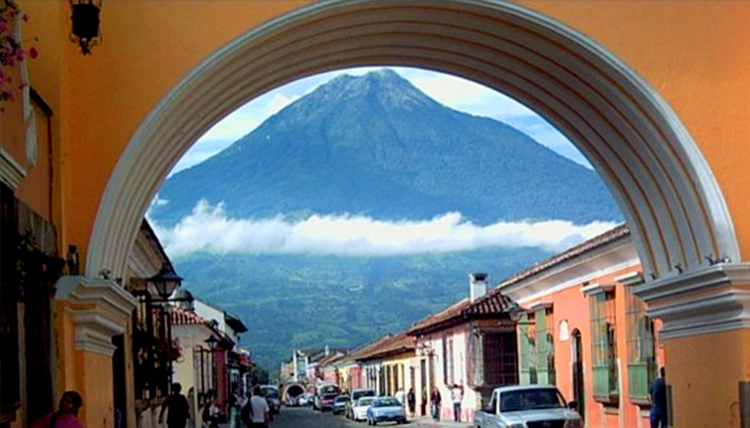 McGeorge Guatemala mountain view