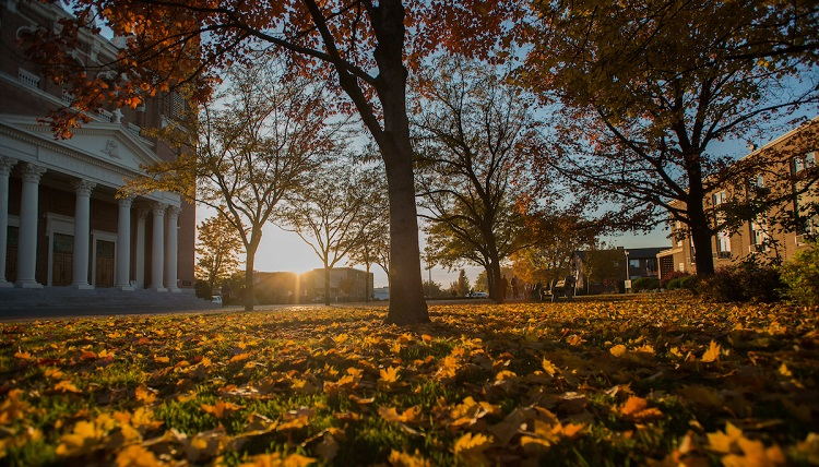 Scenes from campus during Fall Family Weekend.