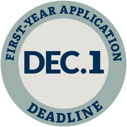 First-Year Application Deadline