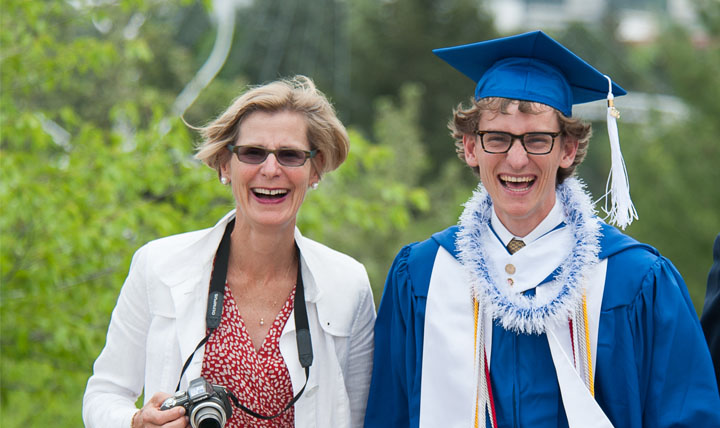 parents with graduate