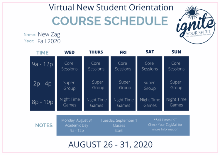 Virtual New Student Orientation