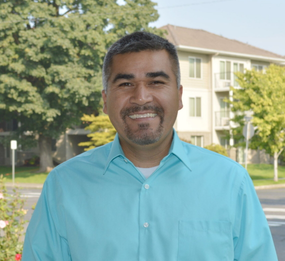 Health and wellness staff photo of fernando ortiz
