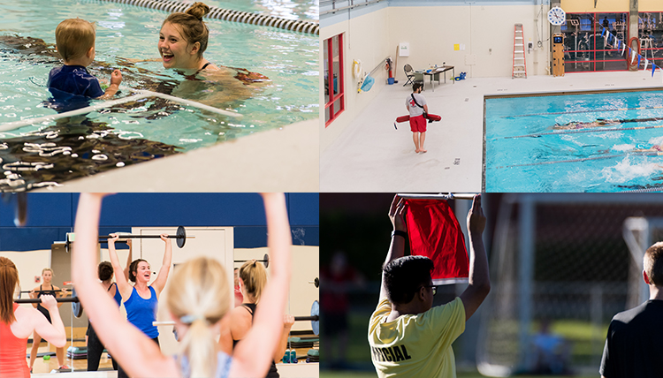 rfc student employees: swim instructor, lifeguard, fitness instructor, official