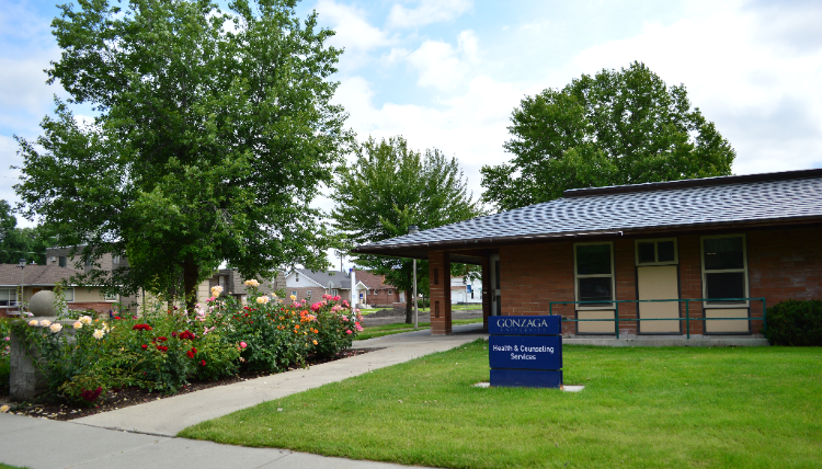 This photo is of Health & Counseling Services building.