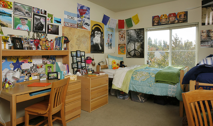 Twohy Hall bedroom