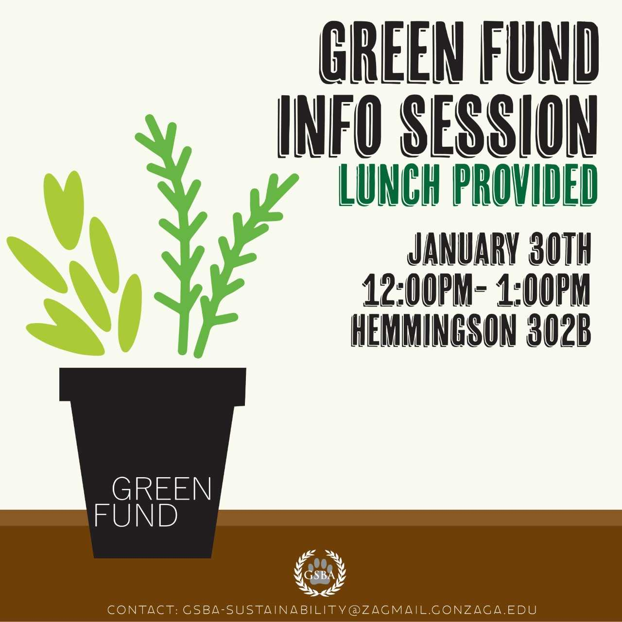 Information about the Green Fund