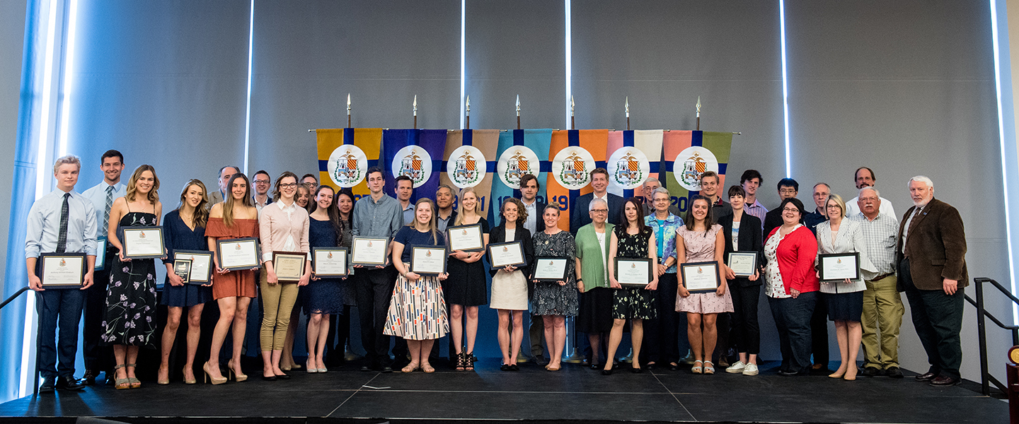 2018 College of Arts and Sciences Academic Honors Convacation Group