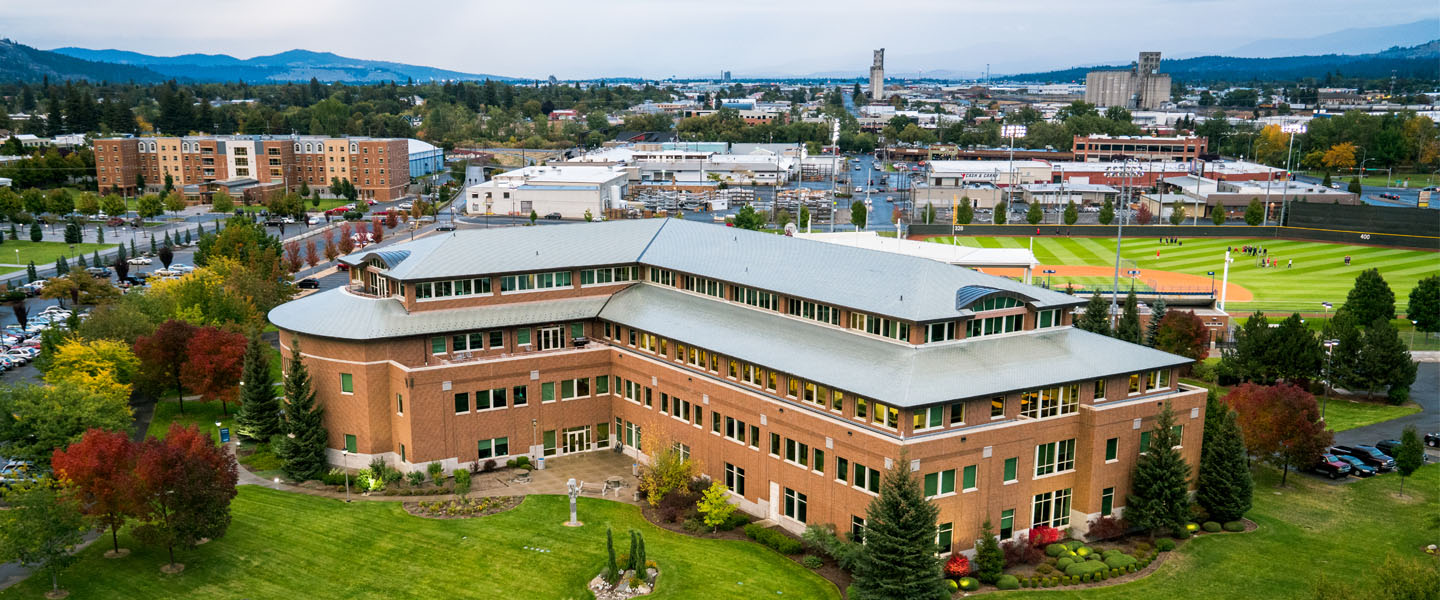 Overhead view of the Law School