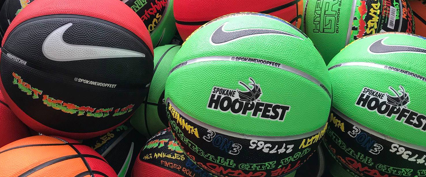 Hoopfest 2018 official ball