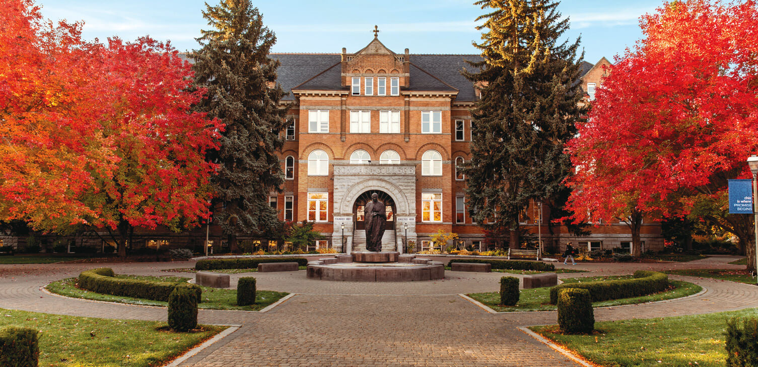 College Hall in Fall