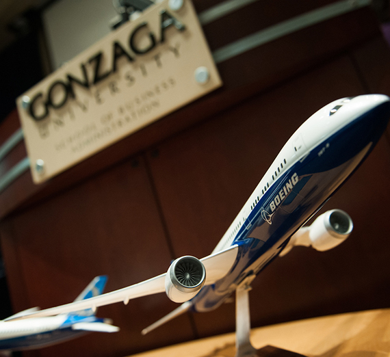 Boeing has long been one of Gonzaga's largest employers.