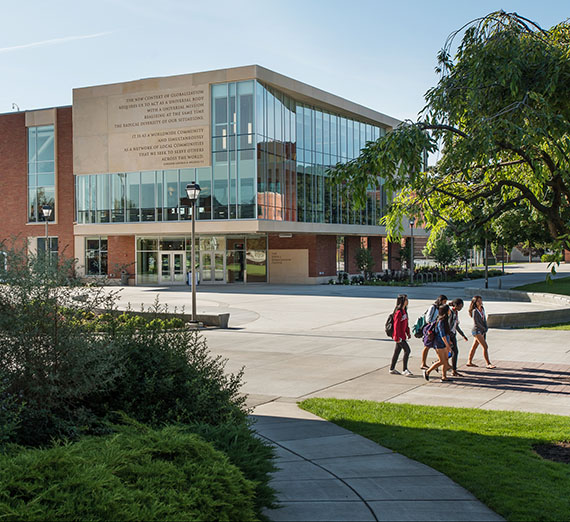 Hemmingson Center exterior