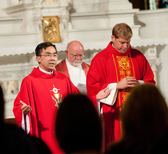 Red Mass at St. Aloysius Church