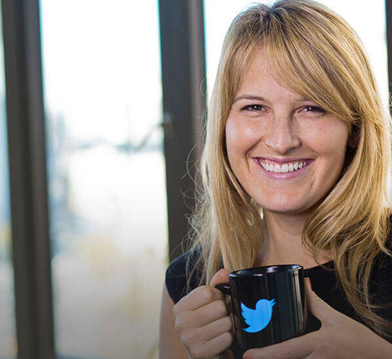 Former Twitter employee Libby Laveson ('06, B.S. Applied Communication, '08 M.A. Communication & Leadership Studies)