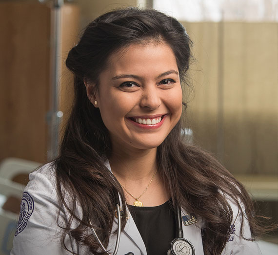 UW School of Medicine - Gonzaga Regional Health Partnership student Mara Hazeltine