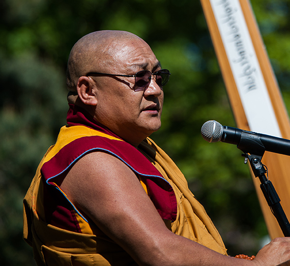 Global Scholar and Peace Activist Geshe Thupten Phelgye