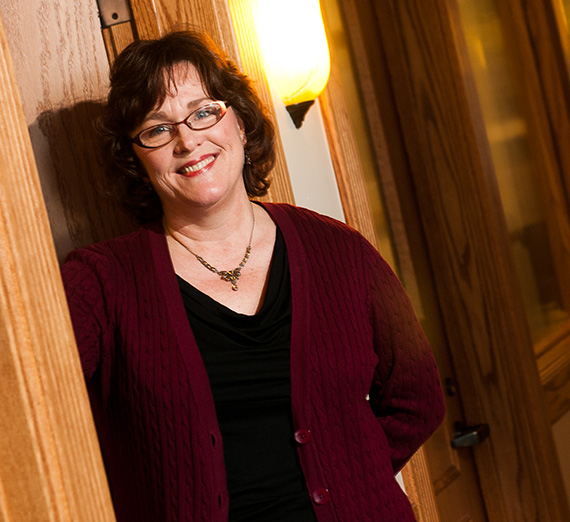 Patricia Terry,  Interim Dean, Gonzaga College of Arts & Sciences