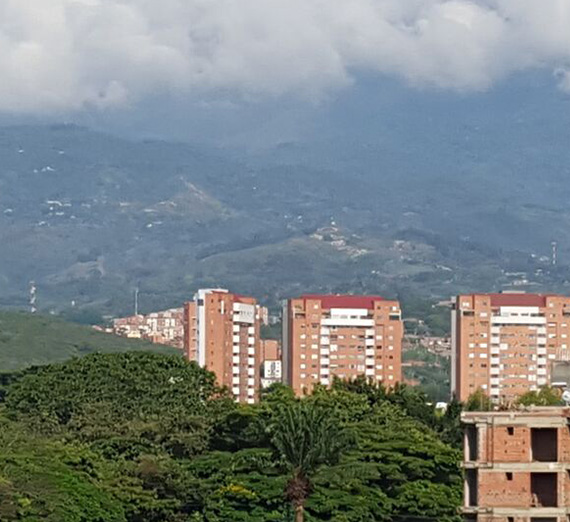 Hills and Buildings, Cali, Columbia