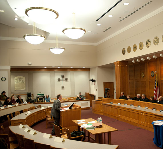 law school courtroom