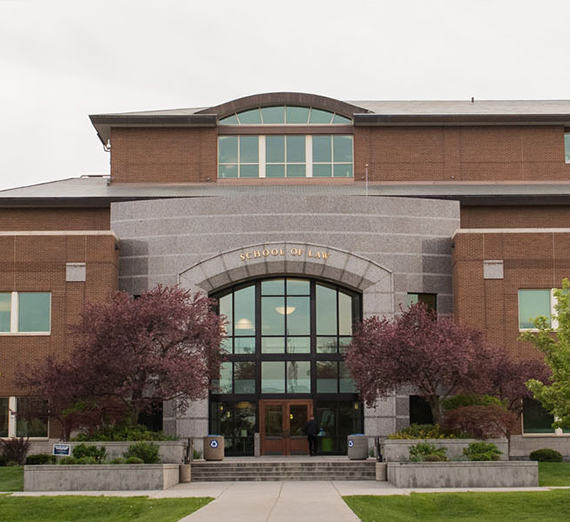 Front of Gonzaga Law School